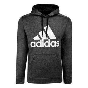 NWT Adidas Men's Badge Of Sport Matrix Hoodie Grey